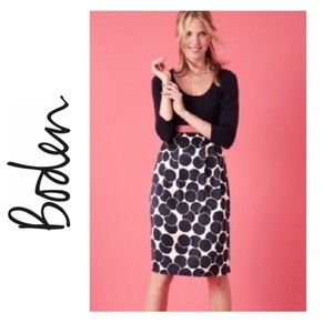 BODEN Poppy Cosmopolitan Polka Dots Dress US 8